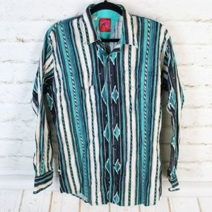 Roper || Multi-Color Button-Down Western Shirt